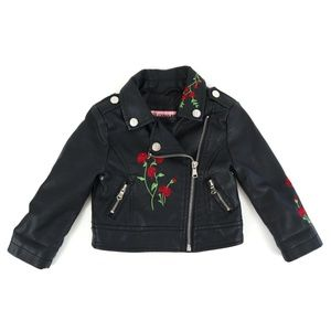 URBAN REPUBLIC faux leather jacket, size 18M